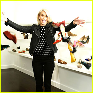 Julianne Hough: Final Touches for Sole Society Shoe Collection