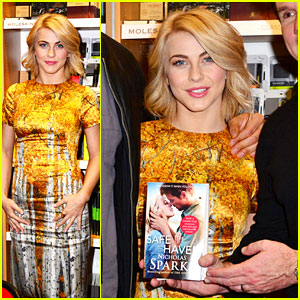 Julianne Hough: 'Safe Haven' London Book Signing!