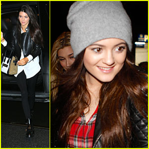 Kendall &#038; Kylie Jenner: Nobu Dinner in New York