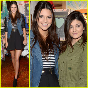Kendall & Kylie Jenner: PacSun Line Debut!