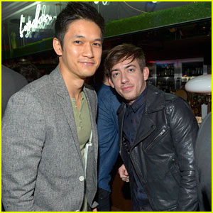 Kevin McHale &#038; Harry Shum Jr: Topshop Topman Opening Event
