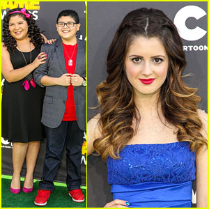 Tatto Games on Laura Marano  Hall Of Game Awards 2013 With Rico   Raini Rodriguez