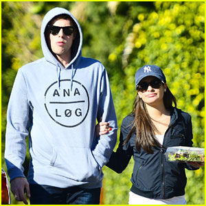 Lea Michele & Cory Monteith: Aroma Cafe Couple
