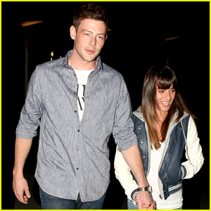 Lea Michele & Cory Monteith: Post-Super Bowl Movie!