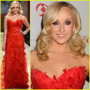 Nastia Liukin: Heart Truth Red Dress Fashion Show 2013