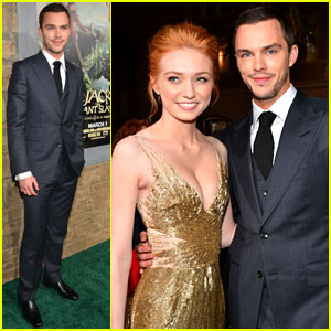 Nicholas Hoult & Eleanor Tomlinson: 'Jack the Giant Slayer' Premiere
