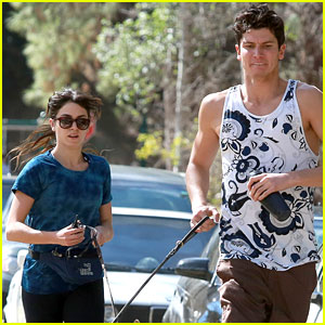 Nikki Reed: Family Fitness With Brother Nathan!