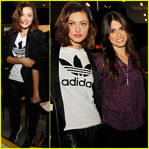 Nikki Reed &#038; Phoebe Tonkin: Adidas Energy Boost Launch