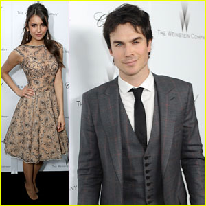 Nina Dobrev &#038; Ian Somerhalder: Oscar Party Pair!