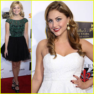 Olivia Holt & Cassie Scerbo: 'Salute to the Stars' Party