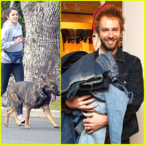 Paul McDonald Donates Jeans; Nikki Reed & Enzo Run For It