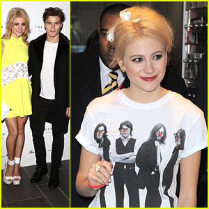 Pixie Lott: Back at BBC Before View From The Shard Party
