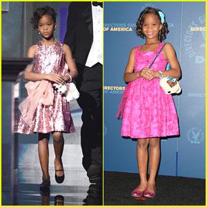 Quvenzhane Wallis: DGA & NAACP Image Awards 2013