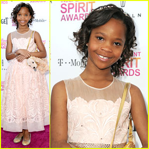 Quvenzhane Wallis: Independent Spirit Awards 2013