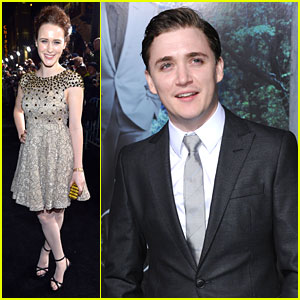 Rachel Brosnahan with cool, endearing, friendly, Boyfriend Kyle Gallner