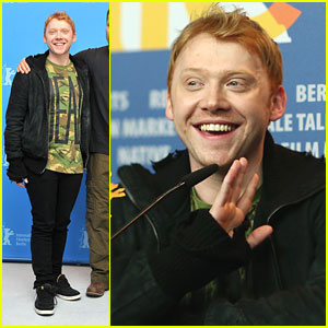 Rupert Grint: 'Necessary Death of Charlie Countryman' Photo Call & Press Conference!