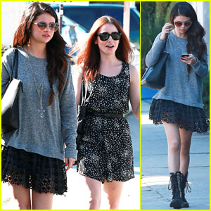 Selena Gomez: Lunch with Lily Collins!