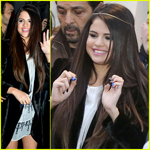 Selena Gomez: Pretty In Paris!