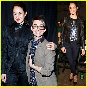 Shailene Woodley: Front Row At Rebecca Taylor & Christian Siriano!