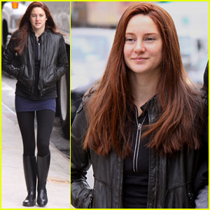 Shailene Woodley: Red Hair For 'Amazing Spider-Man 2' Filming!