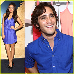 Shay Mitchell: American Eagle Mexico City Opening with Diego Boneta!