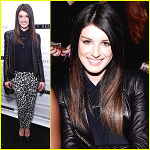 Shenae Grimes: Fashion Week Trendsetter at Tracy Reese