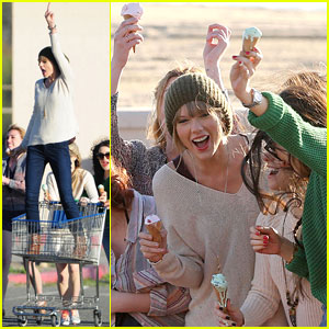 Taylor Swift: '22' Music Video Shoot!