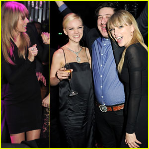 Taylor Swift: BRIT Awards After-Party Girl!