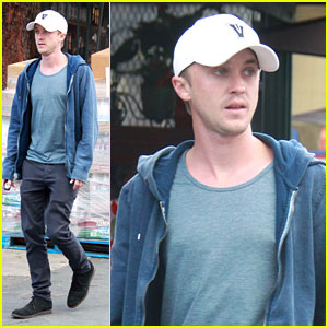 Tom Felton: Errand Run in Los Angeles