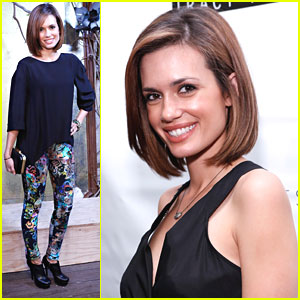 Torrey DeVitto: Tracy Reese & Cynthia Rowley Fashion Shows
