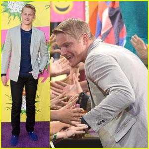 Alexander Ludwig - Kids' Choice Awards 2013 Red Carpet