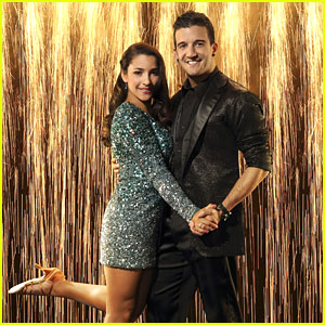 Aly Raisman & Mark Ballas: 'Dancing With The Stars' Official Pics!