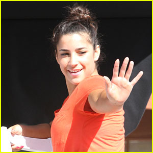 Aly Raisman: 'DWTS' Rooftop Interview