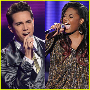 American Idol Top 8: Candice Glover & Lazaro Arbos Perform - Watch Now!