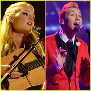 American Idol Top 8: Janelle Arthur & Devin Velez Perform - Watch Now!