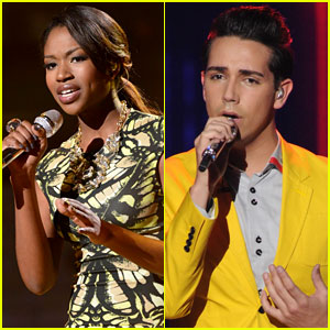 American Idol Top 9: Amber Holcomb & Lazaro Arbos  Perform - Watch Now!