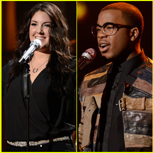 American Idol Top 9: Kree Harrison & Burnell Taylor Perform - Watch Now!