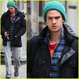 Andrew Garfield: Morning Coffee Guy!