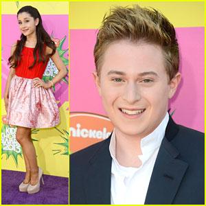 Ariana Grande: Kids' Choice Awards 2013 with Reed Alexander