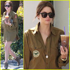 Ashley Benson: Coffee Cutie!