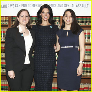 Ashley Greene: 'No More' Symbol Launch on Capitol Hill