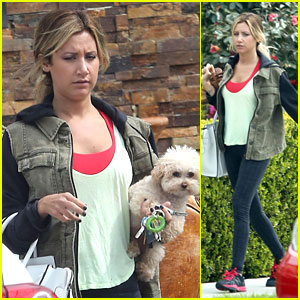 Ashley Tisdale: Out with Maui!