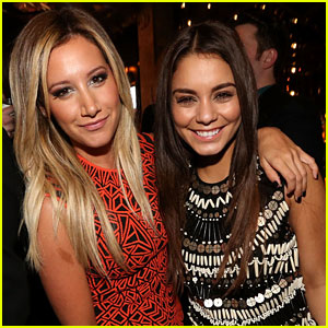 Ashley Tisdale & Vanessa Hudgens: 'Spring Breakers' After Party Pair