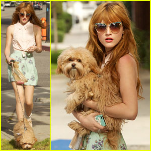 Bella Thorne: Puppy Play Time!