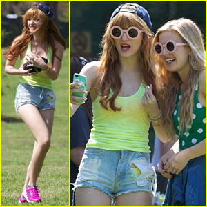 Bella Thorne & Tristan Klier: Griffith Park with Caroline Sunshine!