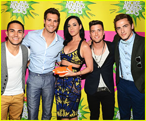 Big Time Rush - Kids� Choice Awards 2013 Red Carpet