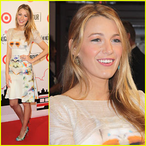 Blake Lively: Target Launch in Toronto!