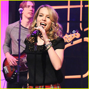 Bridgit Mendler Brings A 'Hurricane' To 'Live with Kelly & Michael'