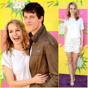 Bridgit Mendler & Shane Harper - Kids Choice Awards 2013