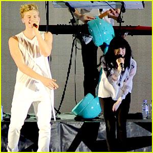 Carly Rae Jepsen & Cody Simpson: Birmingham Concert Pics!